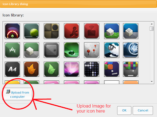 Upload your image for Screen Elements