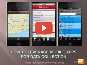 Leveraging Apps for Mobile Data Capture