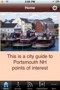 Portsmouth NH City Guide App