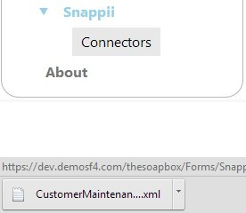 SNAPPI connector